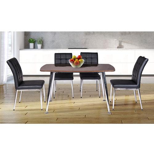 Bộ bàn ghế ăn gỗ B68 Veneer