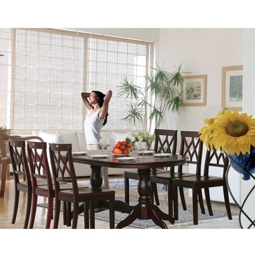 Bộ bàn ghế ăn gỗ TB06, TGA03