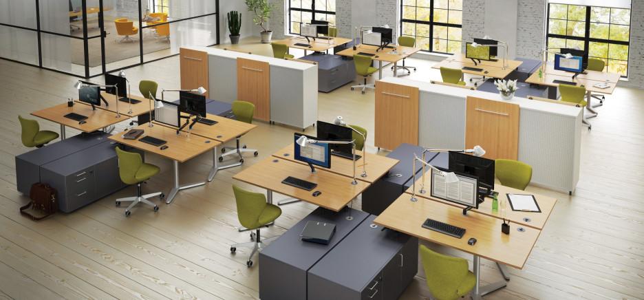 Mẫu thiết kế văn phòng đơn giản hiện đại
