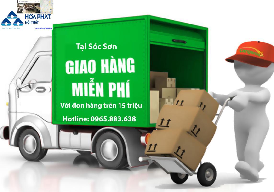 chính sách vận chuyển giao nhận nội thất hòa phát tại Sóc Sơn