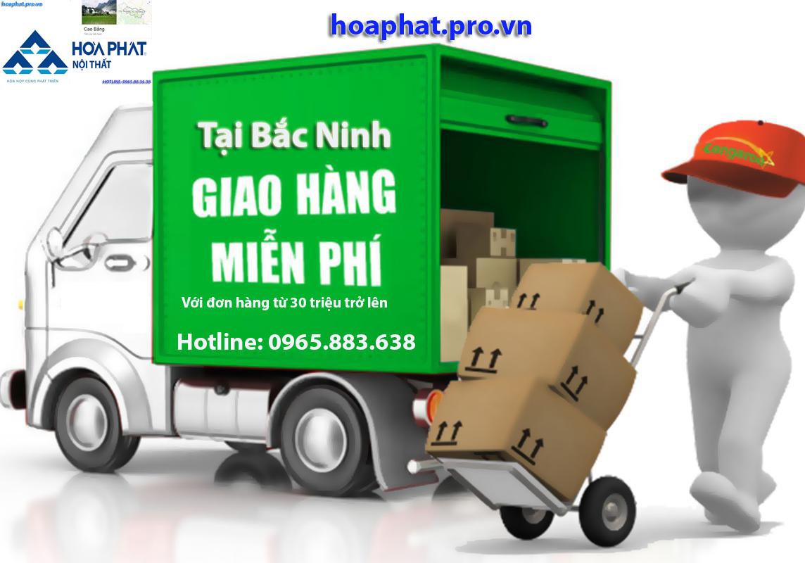 hoaphat.pro.vn giao hàng miễn phí với đơn hàng từ 30 triệu tại bắc ninh