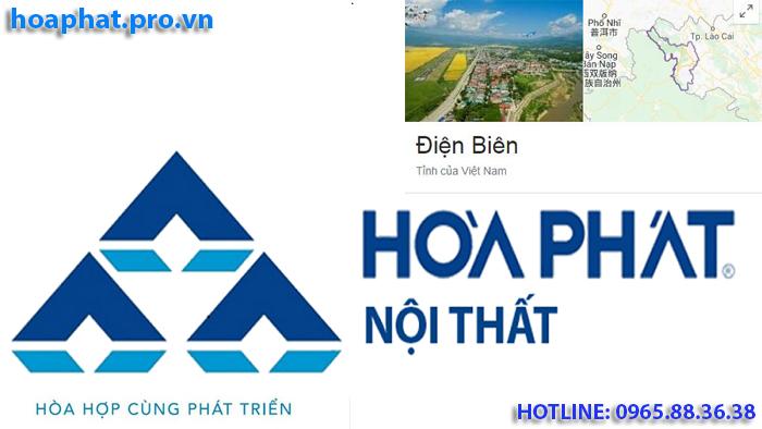 logo thương hiệu nội thất hòa phát tại Điện Biên