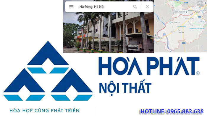 logo thương hiệu nội thất hòa phát tại Hà Đông