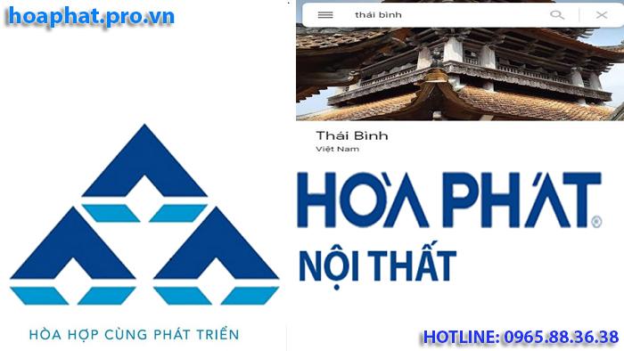logo thương hiệu nội thất hòa phát tại thái bình
