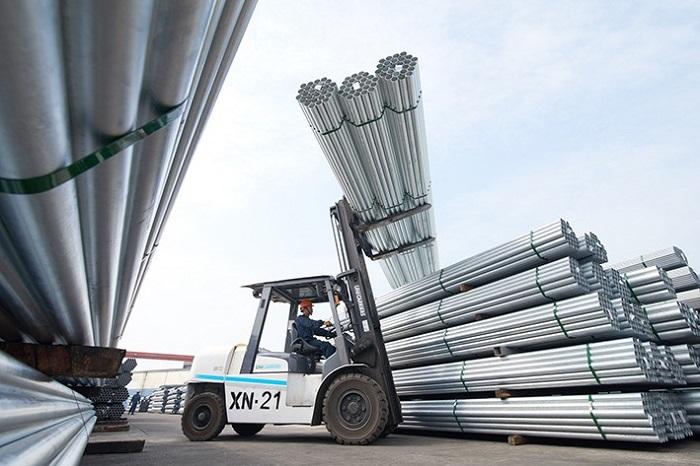 ống thép tôn ạ sản lượng bán hàng tăng mạnh