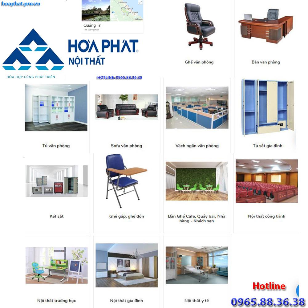 sản phẩm chính của nội thất hòa phát tại hà giang đa dạng từ văn phòng gia đình trường học công trình đến y tế tại quảng trị