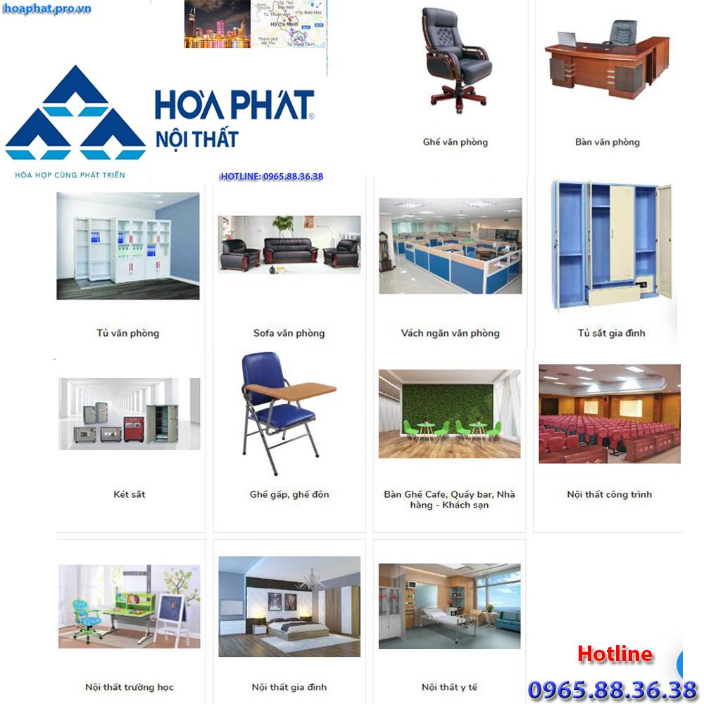 sản phẩm chính của nội thất hòa phát tại hà giang đa dạng từ văn phòng gia đình trường học công trình đến y tế tại tphcm