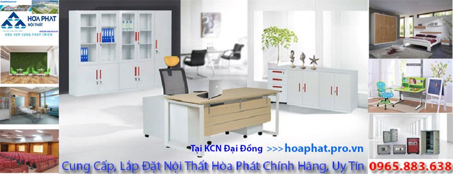 Hòa Phát Pro Vn cung cấp nội thất Hòa Phát chính hãng tại khu công nghiệp đại đồng hoàn sơn