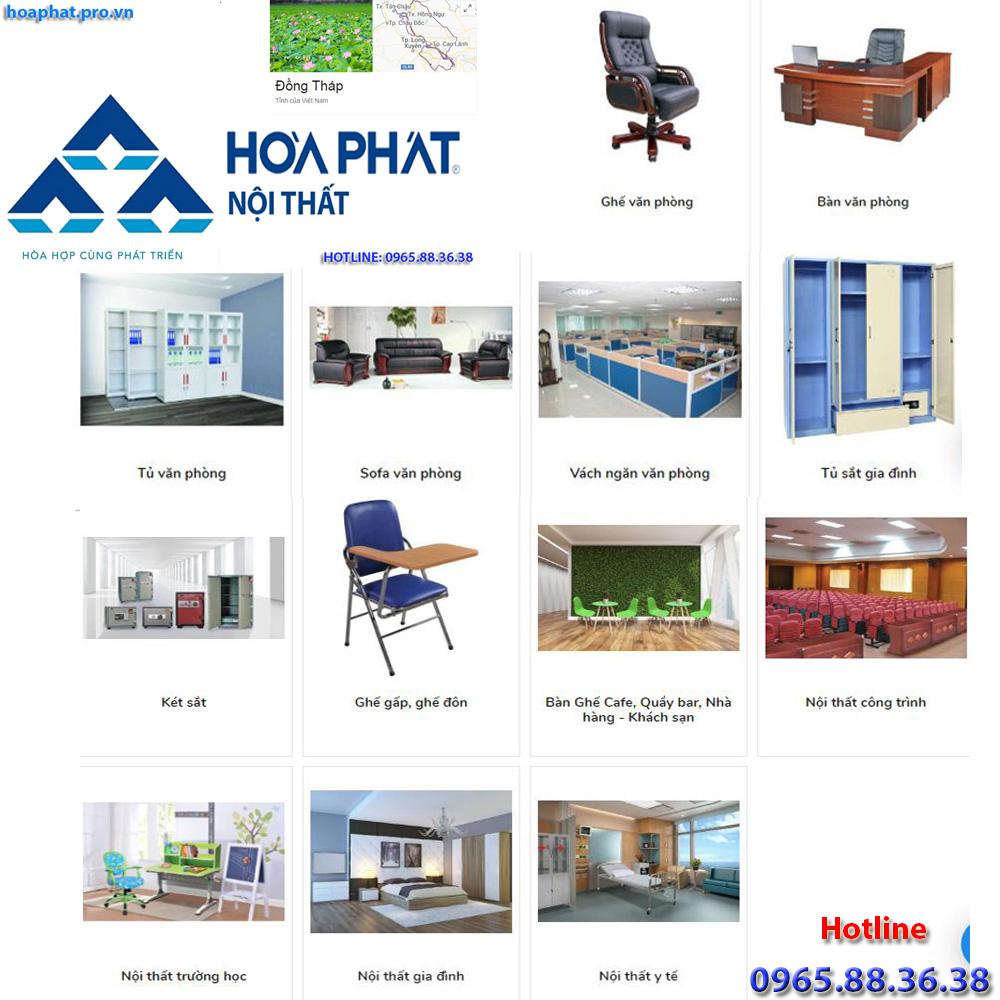 sản phẩm chính của nội thất hòa phát tại hà giang đa dạng từ văn phòng gia đình trường học công trình đến y tế tại đồng tháp