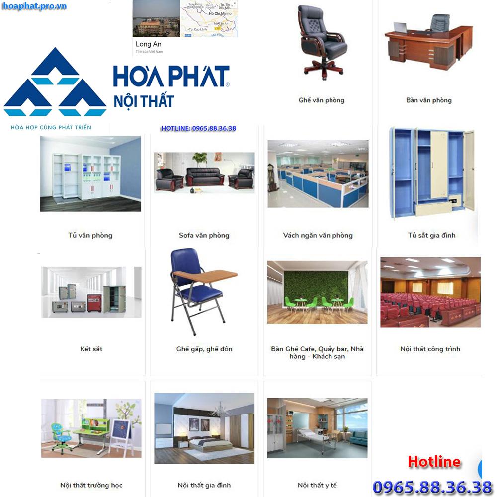 sản phẩm chính của nội thất hòa phát tại hà giang đa dạng từ văn phòng gia đình trường học công trình đến y tế tại Long An