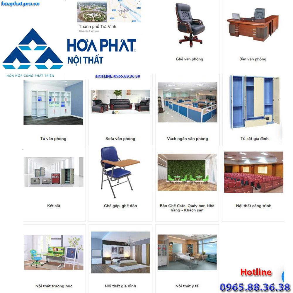 sản phẩm chính của nội thất hòa phát tại hà giang đa dạng từ văn phòng gia đình trường học công trình đến y tế tại Trà Vinh