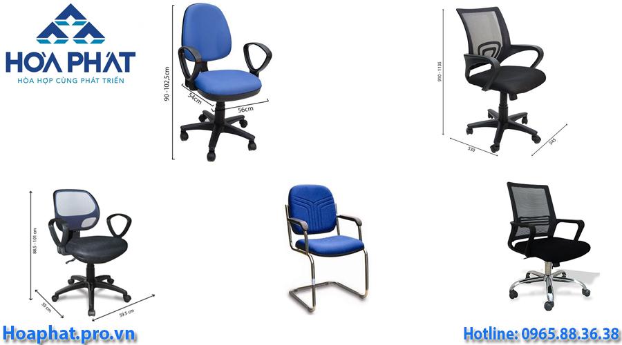 5 ghế văn phòng hòa phát giá dưới 1 triệu đồng