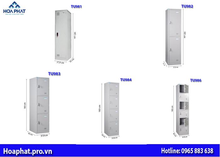 5 mẫu tủ locker hòa phát giá dưới 2 triệu đồng