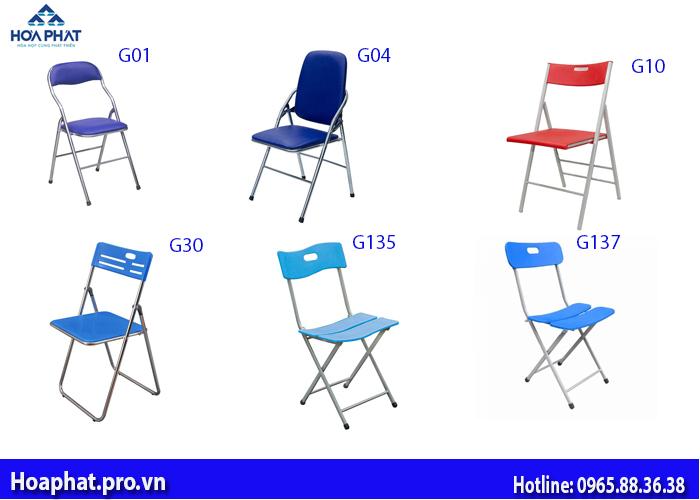 6 mẫu ghế gấp văn phòng hòa phát giá rẻ