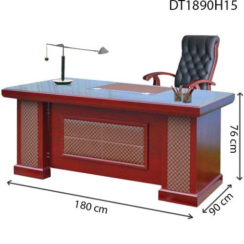 bàn giám đốc hòa phát dt1890h15 dài 1m8