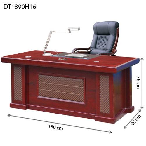 bàn giám đốc hòa phát dt1890h16 dài 1m8