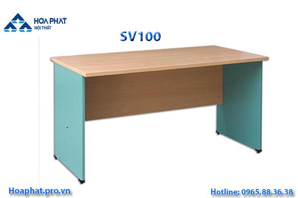 bàn làm việc hòa phát sv100 màu vàng xanh