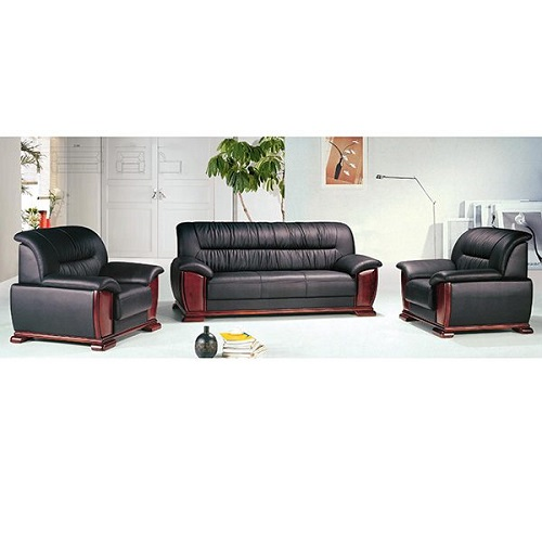 bộ ghế sofa văn phòng da thật hòa phát sf01