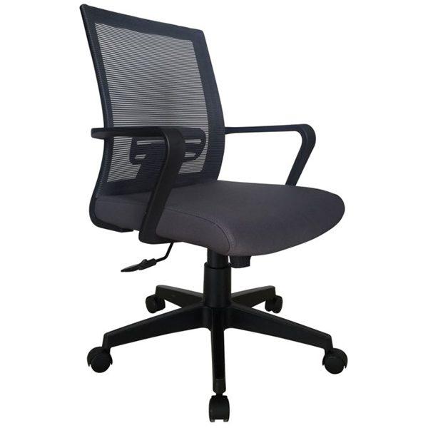 ghế văn phòng hòa phát gl117 chân nhựa giá rẻ