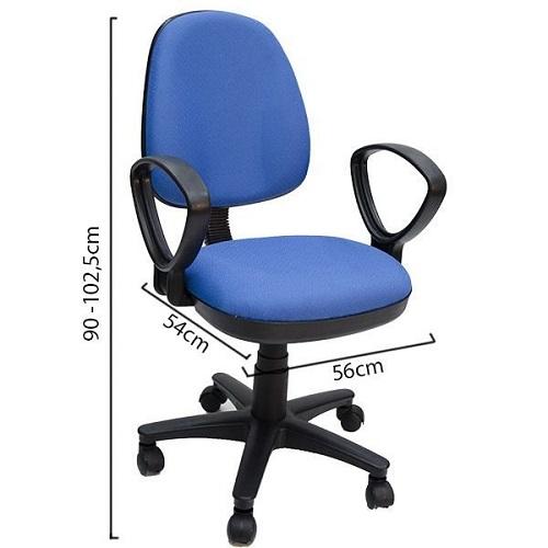 ghế văn phòng hòa phát sg550 màu xanh giá dưới 1 triệu đồng