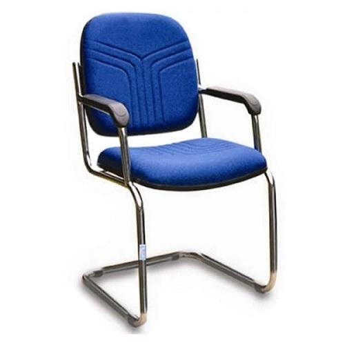 ghế văn phòng hòa phát vt1 chân mạ màu xanh