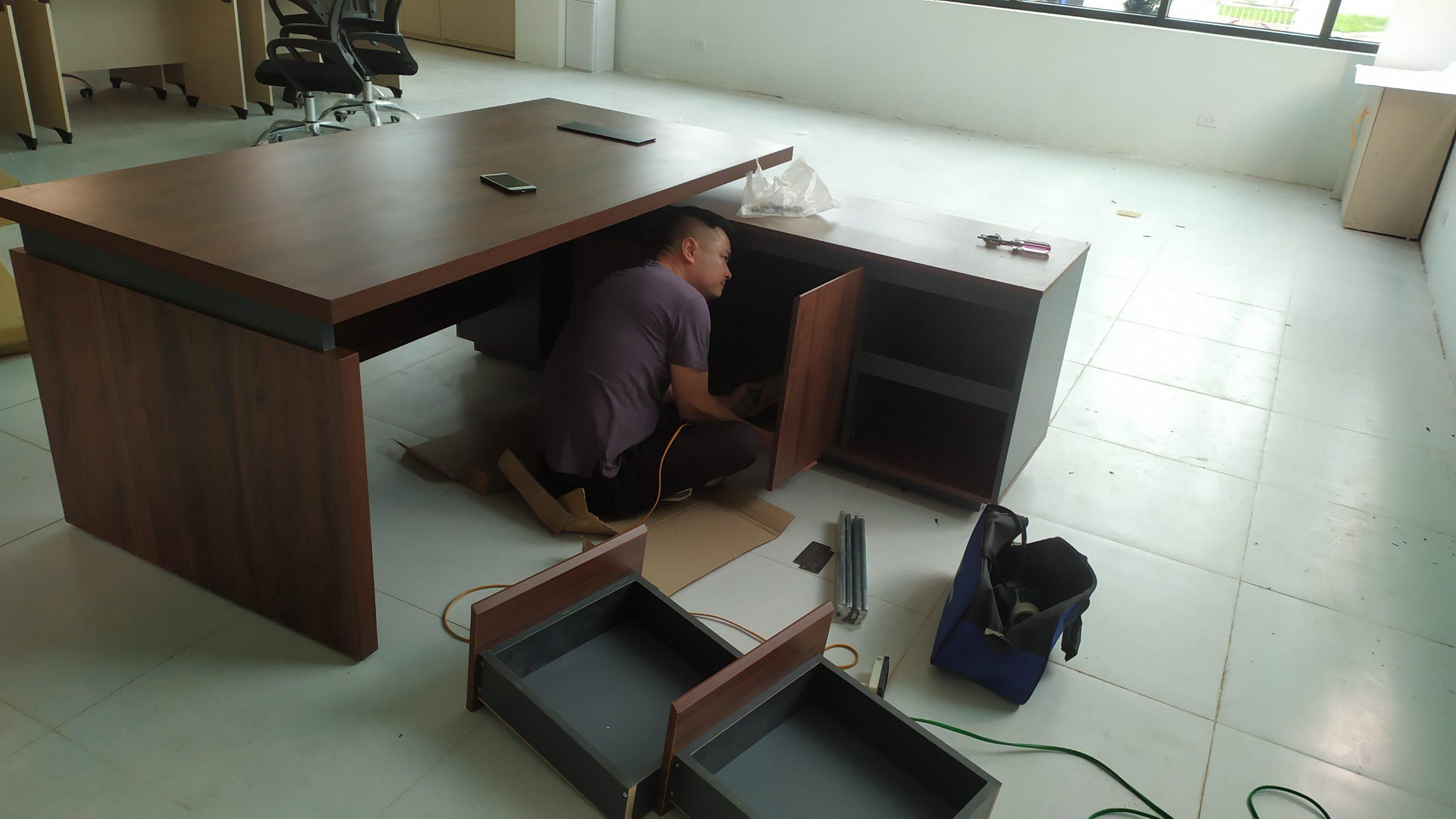 lắp đặt bàn luxb1818v3 kcn bá thiện 2