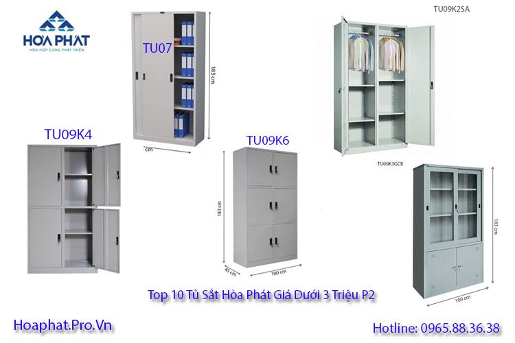 top 10 tủ sắt hòa phát giá dưới 3 triệu đồng p2