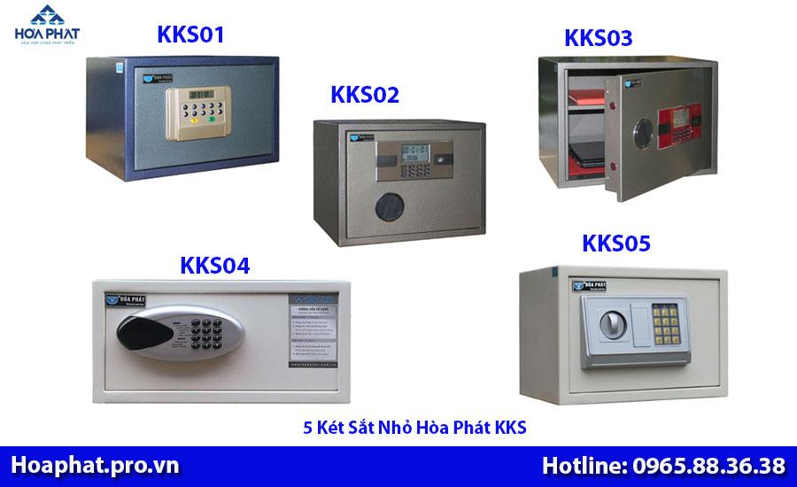 5 két sắt khách sạn nhỏ hòa phát kks01 kks02 kks03 kks04 kks05