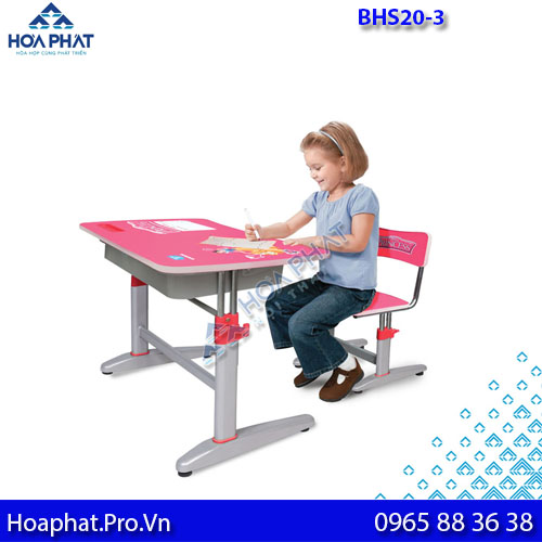 bàn học sinh cho bé lớp 1 bhs 20-3 hòa phát