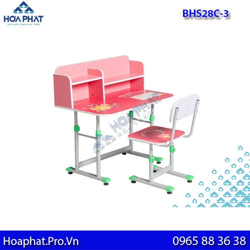 bàn học sinh hòa phát cho bé bhs28c-3