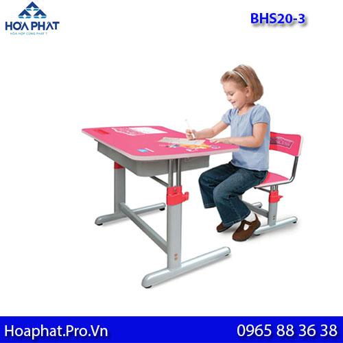 bàn học sinh hòa phát cho bé bhs20-3