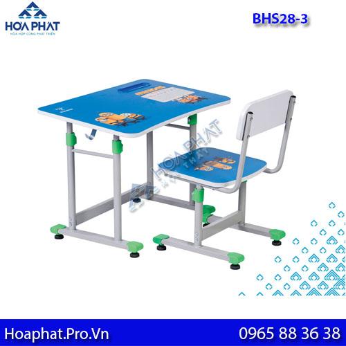 bàn học sinh hòa phát cho trẻ bhs28-3