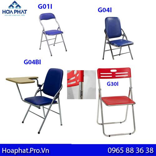 các mẫu ghế gấp chân inox bán chạy nhất của Hòa Phát