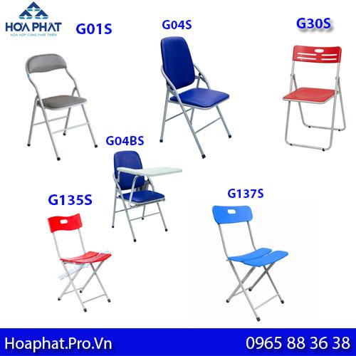 các mẫu ghế gấp khung chân sơn bán chạy nhất của hoà phát