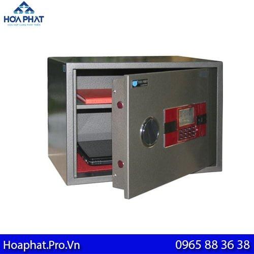 két sắt mini hòa phát sử dụng khóa điện tử dễ dàng mở