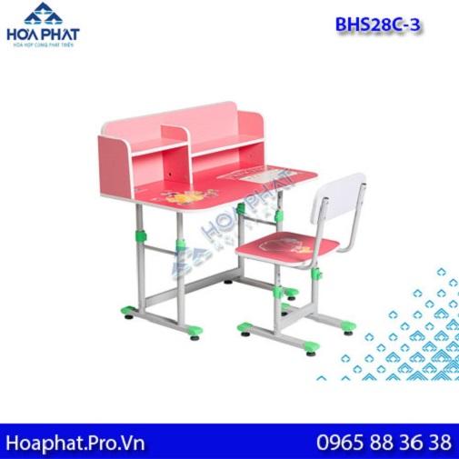 mẫu bàn học sinh hòa phát cấp 2 bhs28c-3