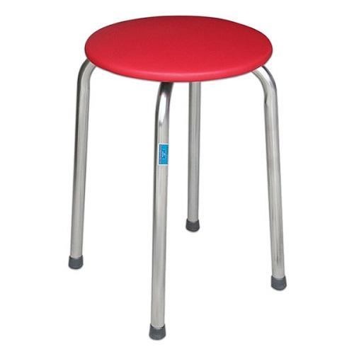 ghế đôn inox hòa phát gd01 đệm pvc