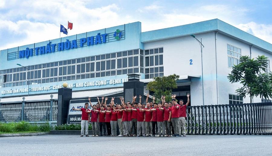 nhà máy sản xuất công ty cổ phần nội thất hòa phát