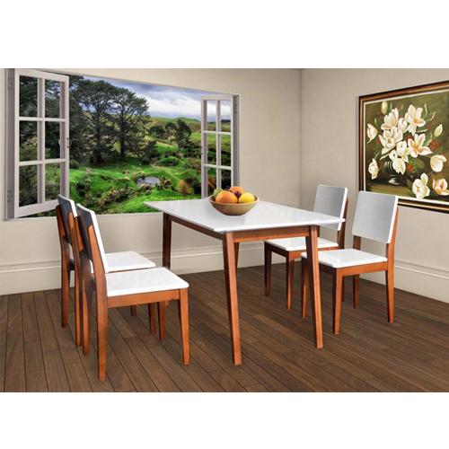Bộ bàn ghế ăn 6 người HGB63A, HGG63