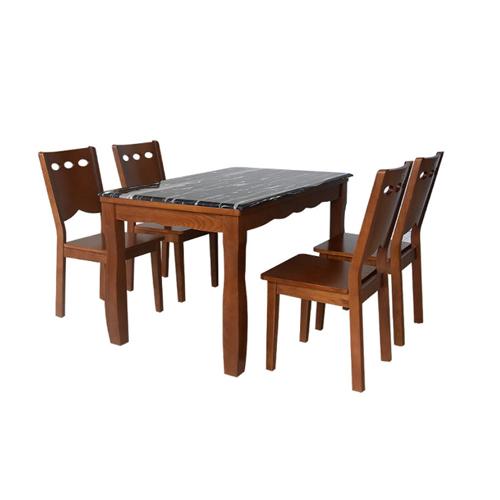 Bộ bàn ghế ăn 6 người HGB74A, HGG74