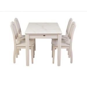 Bộ bàn ghế ăn 6 người HGB66A, HGG66