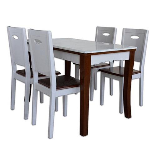 Bộ bàn ghế ăn 4 người HGB75B, HGG75