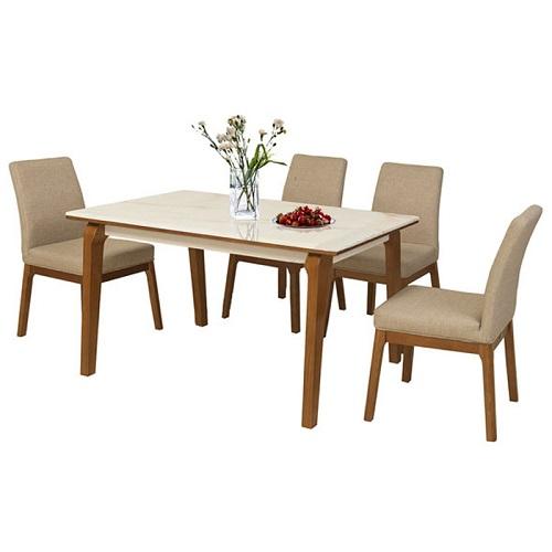 Bộ bàn ghế ăn 6 người HGB76A, HGG76