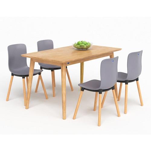 Bộ bàn ghế ăn HGB73, HGG73