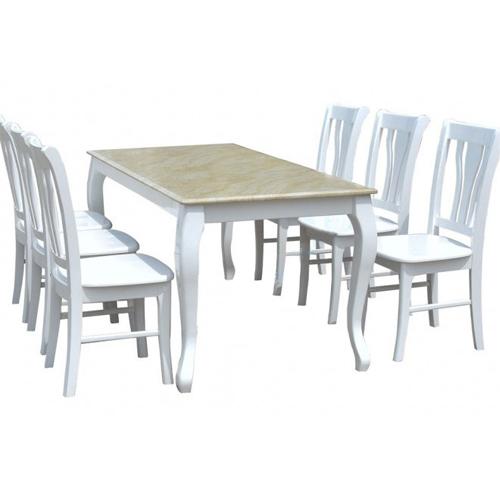 Bộ bàn ghế ăn 6 người HGB61, HGG61