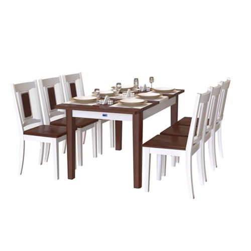 Bộ bàn ghế ăn HGB71AN4, HGG71