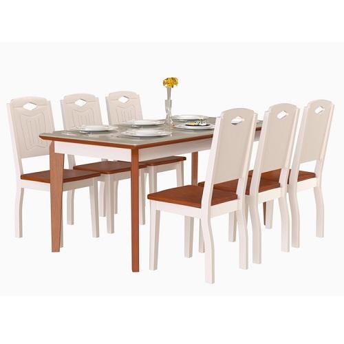 Bộ bàn ghế ăn 6 người BA503A, GA503