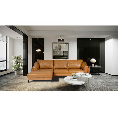 Sofa góc bọc da hòa phát SF132A