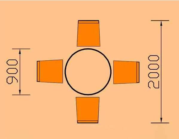 kích thước bàn ăn tròn 4 người hoaphat.pro.vn