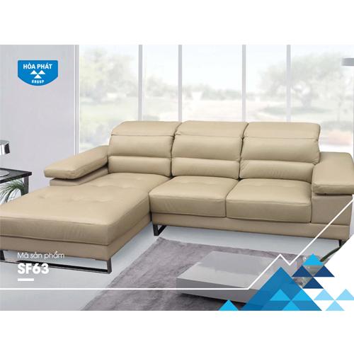 Sofa góc phòng khách hòa phát SF63